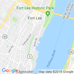 Google Map of The River Palm Terrace (Edgewater)